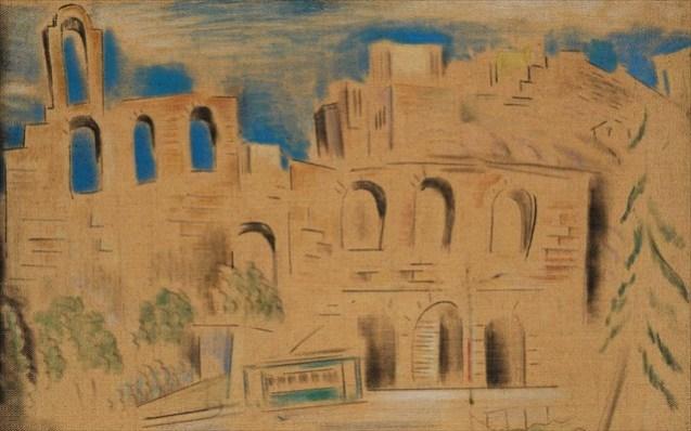 Κων/νος Παρθένης - Θέατρο Ηρώδου Αττικού, 1930 - 1938